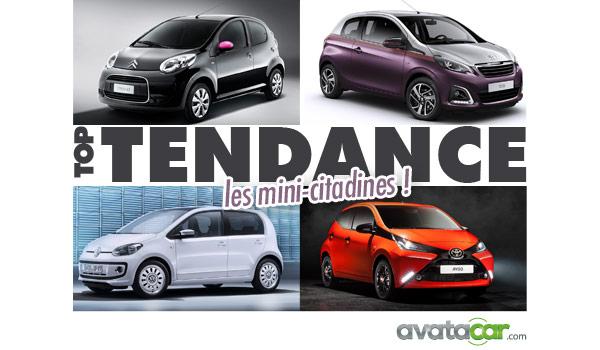 Auto Tendance : les mini-citadines !