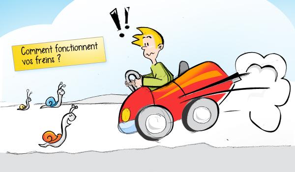 Comment fonctionnent vos freins ?