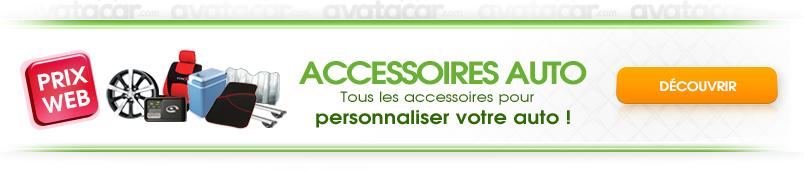 Accessoires voiture sur Avatacar.com