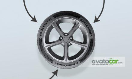 Comprendre le marquage d'un pneu