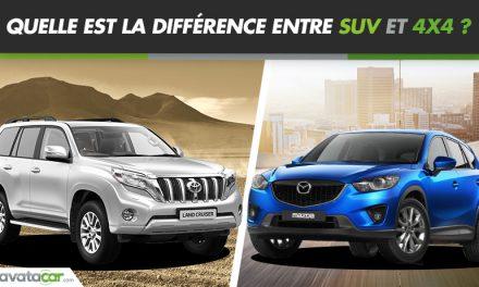 La différence entre SUV et 4X4