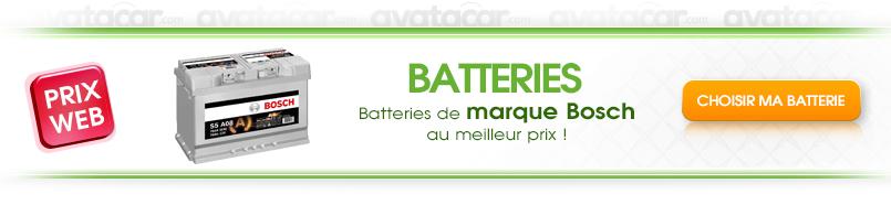 Batteries sur Avatacar.com