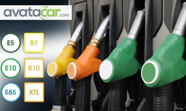 Les différents carburants