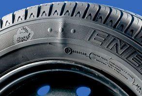 déformation pneus