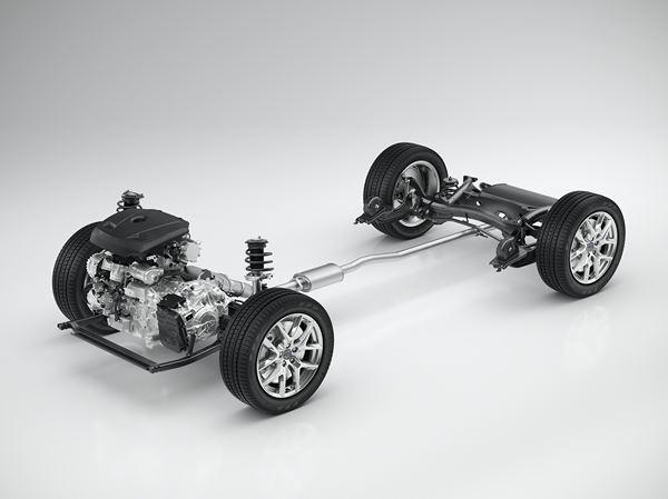 Plateforme CMA Volvo