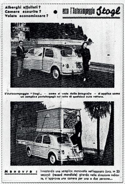 Publicité tente de toit