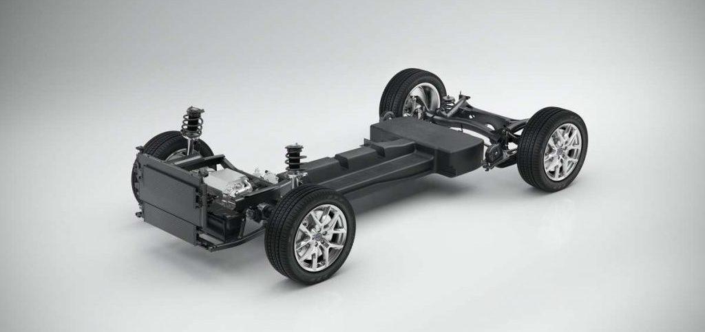 Plateforme CMA Volvo 100% électrique