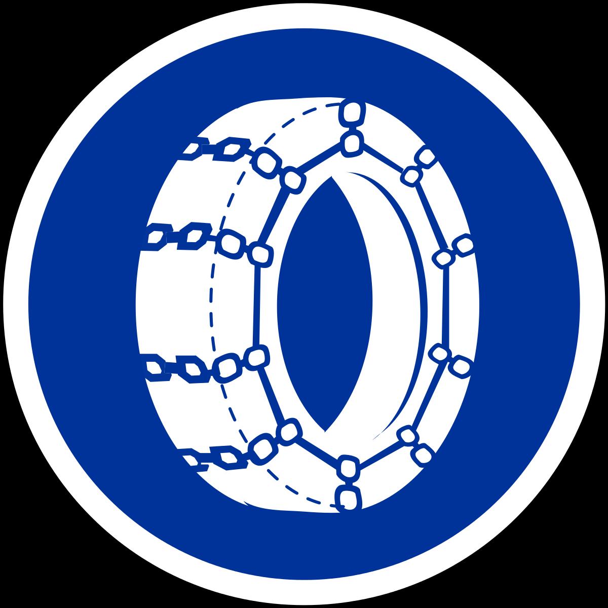 chaînes neige obligatoires