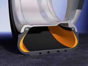 pneu runflat à plat