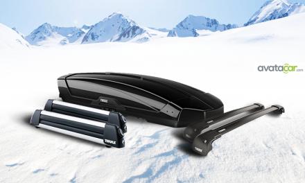 Vacances d'hiver : équipez votre voiture avec THULE !
