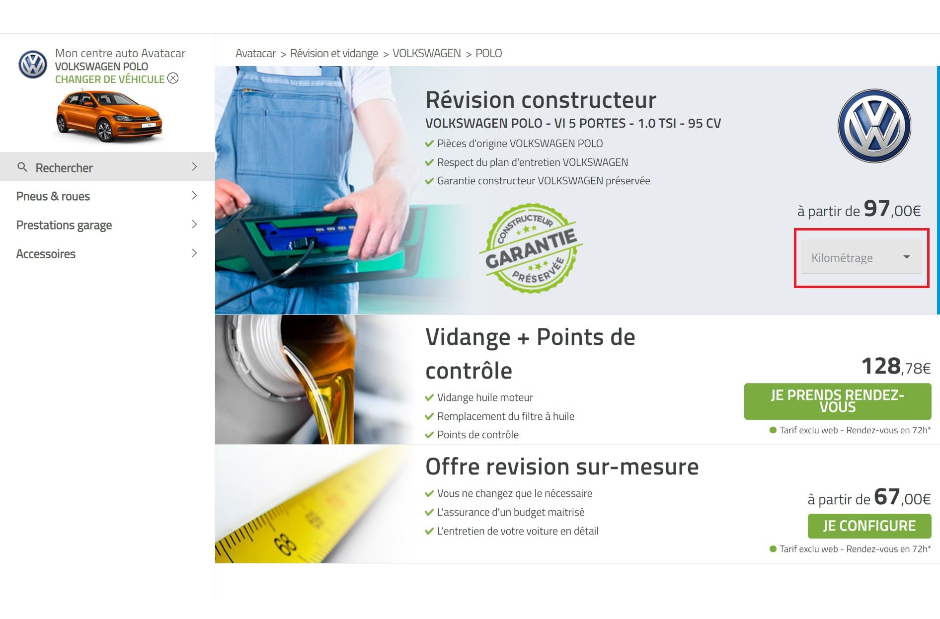 Homepage révision