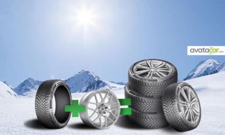 Pour l'hiver, des pneus + jantes !