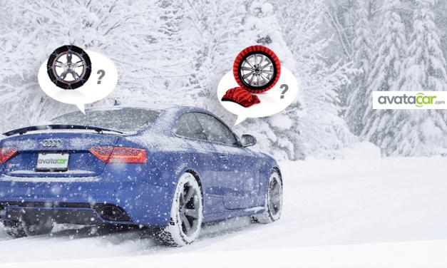Que choisir entre chaussettes et chaînes neige ?