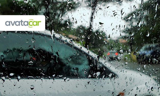 Adapter sa conduite lorsqu'il pleut