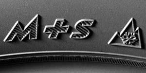 Logo Pneus 3PMSF M+S