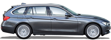 BMW SÉRIE 3 TOURING 318 D - 143 CV